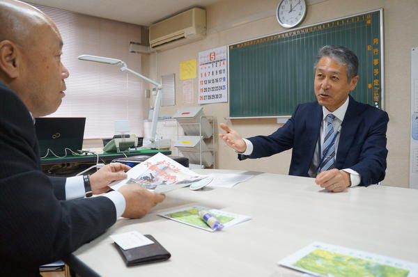 キャリア教育コーディネーター中学校訪問 5月月次報告