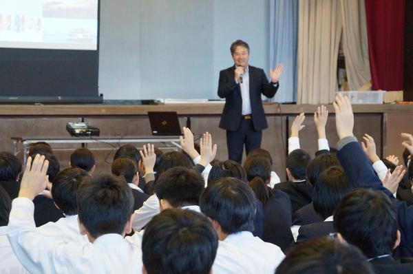 キャリア教育講演会 連日開催!